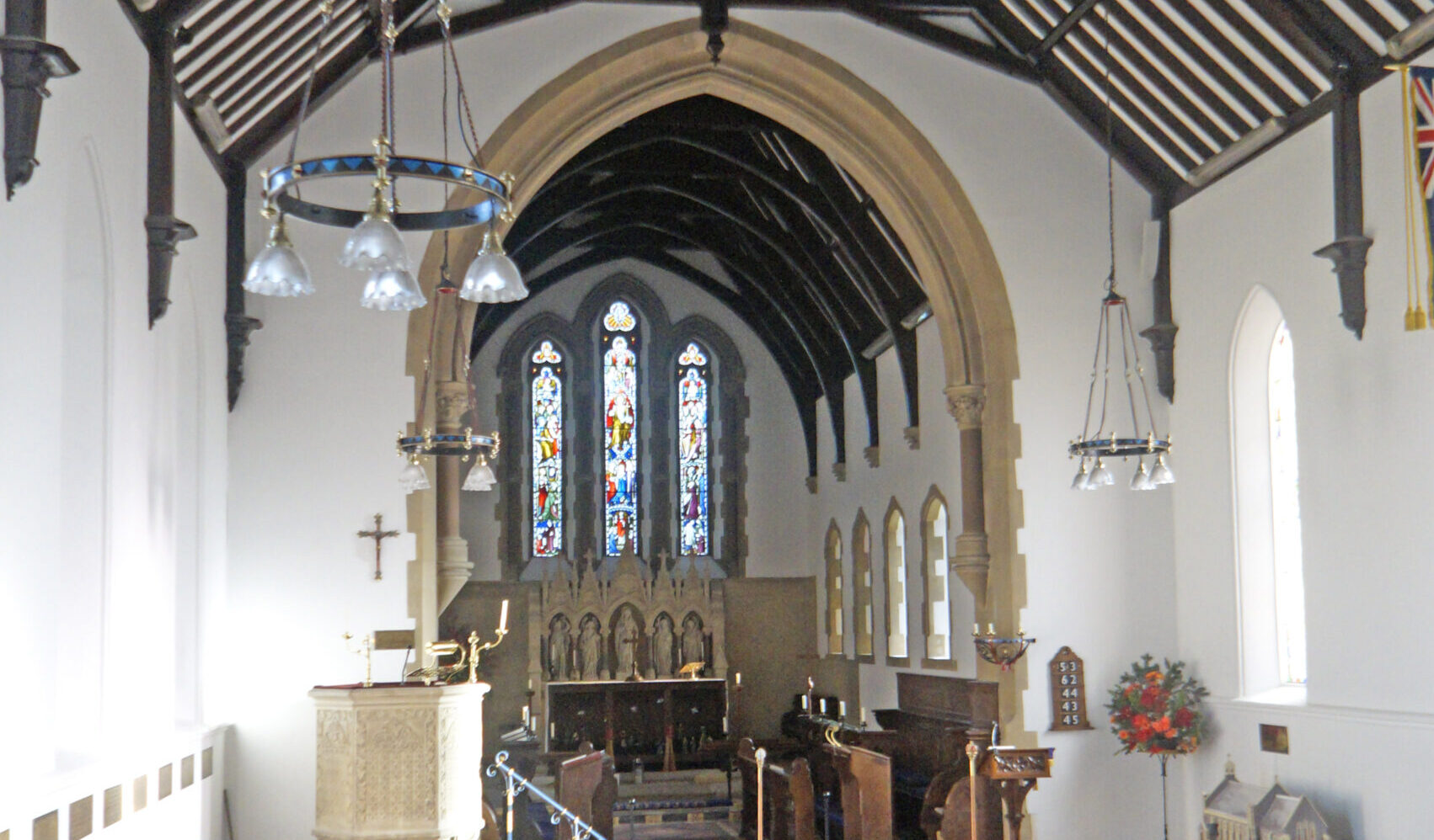 Dunsden Church Interior